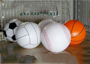 China Giant Inflatable Football Basketball Sports Balloons Advertising Sport Ball factory