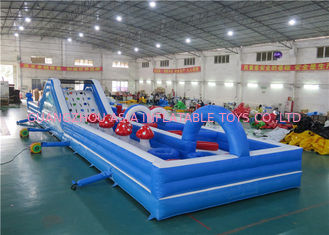 China Commercial Grade Inflatable Obstacle Courses For Amusement Sports Games factory