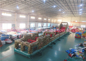 China Fantastic Camouflage Boot Camp Inflatable Paintball Obstacle High Security - Guarantee factory