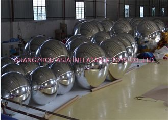 China Attractive Inflatable Mirror Ball Helium Balloon And Blimps Advertising factory