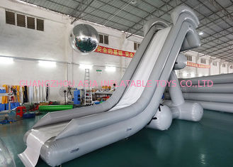 China 0.90mm PVC Water Slide, Inflatable Water Sports For Water Park factory