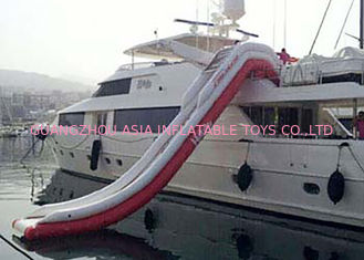 China Giant Inflatable Water Slide , Inflatable Water Amusement Equipment, Yacht Slide factory