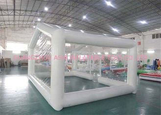 Durable Transparent Inflatable Event Tent / Blow Up Camping Tent
