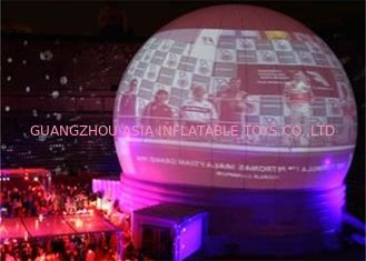 Custom Inflatable Event Tent / Portable Planetarium Dome For Digital Projection
