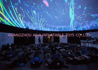 China Custom Inflatable Event Tent / Portable Planetarium Dome For Digital Projection factory