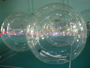 China 2m Diameter Transparent Aqua Water Ball for Kids Inflatable Pool Play factory