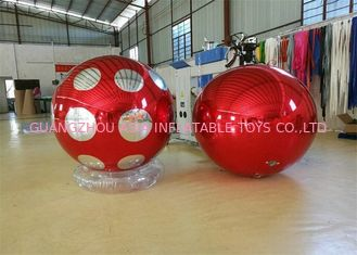 China Stage Customized Advertising Fireproof Inflatable Mirror Ball For Christmas Decoration factory