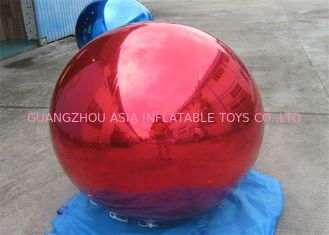 China Branding Decoration Inflatable Red Mirror Balloon For Indoor And Outdoor Event factory
