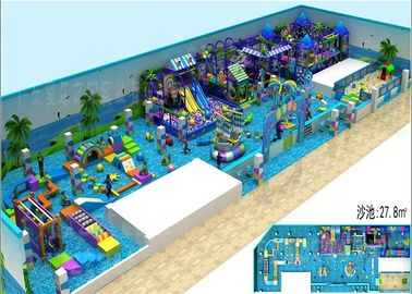 China Pretty Cartoon Sea Sailing Indoor Playground Environmental Protection factory