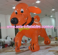custom red inflatable dog shape helium cartoon balloon for sale