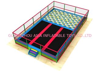 China Large Commercial Plan Inflatable Sports Games / Indoor Trampoline Park factory