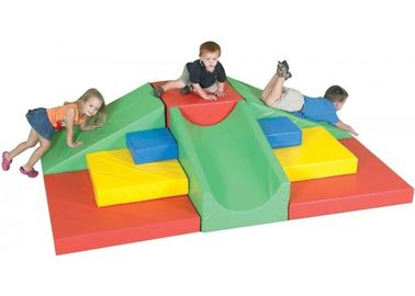 China Amusement Park Kids Indoor Soft Play Equipment Anti - UV / Anti - static factory