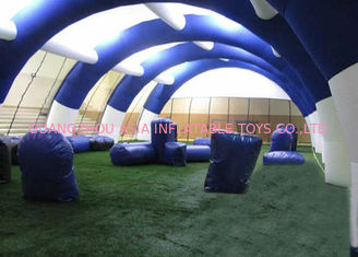 China Light Paintball Air Inflatable Event Tent With PVC Tarpualin Material factory