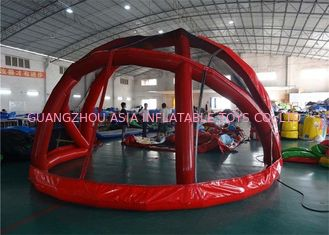 China Baseball Batting Backstop Inflatable Event Tent For Street Performance factory