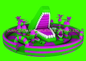 Anti - UV Full - Digital Printing Inflatable Fun City For Kids Playing