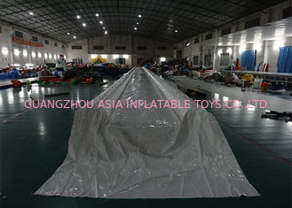 China Water Proof Giant Inflatable Slide For Trade Show / Blow Up Slip N Slide factory