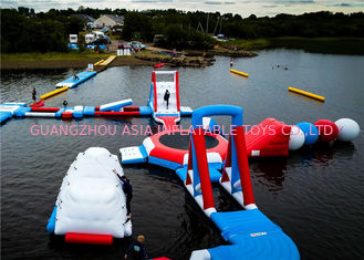 China Amazing Outdoor Water Park Playground / Water Game Toy 3 Years Warranty factory