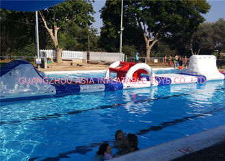 China Ocean Or Sea Floating Inflatable Water Park For Children With Digital Printing factory
