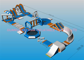 China Commercial Grade Lake Inflatable Floating Water Park For Entertainment factory
