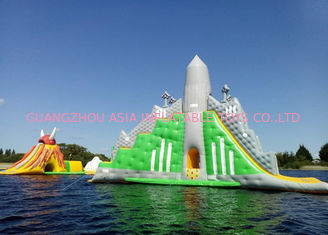 Customized Color Great Commercial Inflatable Water Slides For Water Equipment