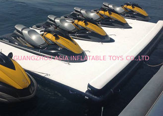 Floating Inflatable Yacht Slides Boat Extension Dock With 3 Years Warranty