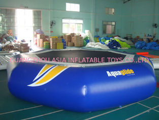 China Takeoff Towable And Inflatable Water Trampoline For Water Sports Games factory