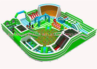 China Promotional Indoor Inflatable Theme Park For Adults Punchure - Proof factory
