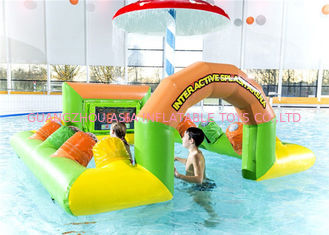 China Water Light Strike Table Inflatable Sports Games With IPS For Toodler factory