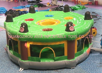 School Training Inflatable Sports Games / Blow Up Whack A Mole