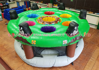 Funny 0.55mm PVC Tarpaulin Inflatable Sports Games With Silk - Screen Printing
