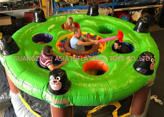 China Giant Human Inflatable Sports Games / Whack A Mole Kids Game factory