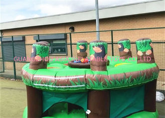 Modern Funny Interactive Inflatable Whack A Mole Games For Children And Adults