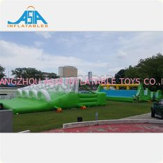 China Durable Insane Inflatable 5k Obstacles Course 72x12m Or Customized factory