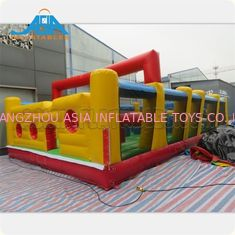 China Bespoke Inflatable 5k Obstacles Challenging Run Race For Theme Park factory