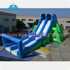 China High Security Inflatable Challenge Obstacle Course With Logo CE ROHS factory