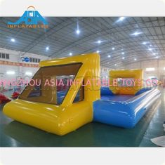 Customized Mad 's Over Sport 20x10m Inflatable Soap Football Arena / Inflatable Soapy Football