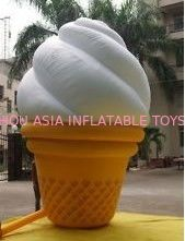China Custom Inflatable Ice Cream Model  for Outdoor Advertising factory