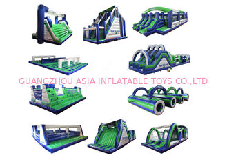 China Inflatable 5k Sport Games , Inflatable 5K Running Obstacle For Adults factory