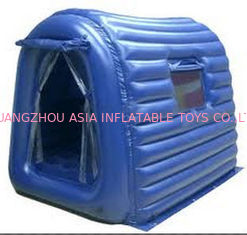 Blue Small Cheap Comfortable Inflatable Camping Tent