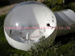Half Transparent Inflatable Camping Tent