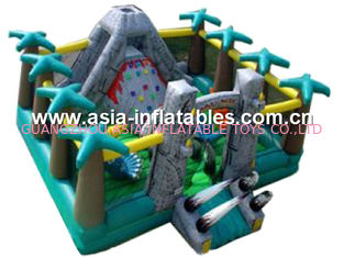 Outdoor Inflatable Funcity, Inflatable Funland For Park Outdoor Amusement Games