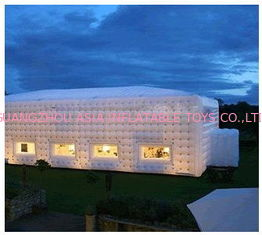 giant inflatable cube tent, inflatable event tent