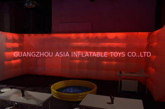 Outdoor Inflatable tent with led light,inflatable tent with rooms