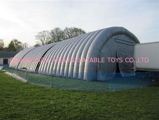 outdoor pvc inflatable dome tent for sale/high quality and waterproof inflatable tunnel tent