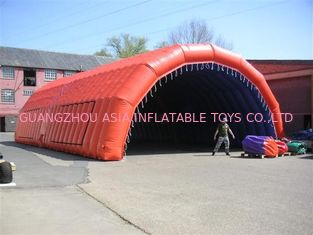 new design inflatable tunnel tent/ new design inflatable sports tent with hat shape/ inflatable car tent
