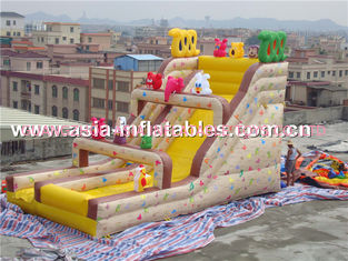 China Inflatable Slide With Lovely Animal Cartoons For Outdoor Inflatable Sports Games factory