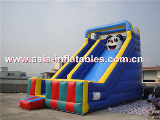 China Commercial Inflatable Slide With Panda Cartoon Used For Party And Holiday factory