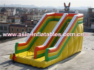 China Hot Rental Inflatable Rabbit Slide For Party And Holiday factory