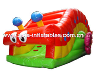 China Commercial Grade Inflatable Slide Used In Back Yard, Ultimate Fun For Kids factory