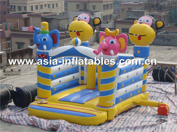 China used commerical playground equipment inflatable combo  factory